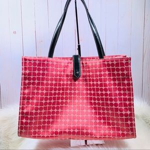 Kate Spade  Dot Noel Pink Satin Bag